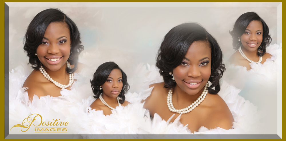 Classic-senior-portrait-feather-boa